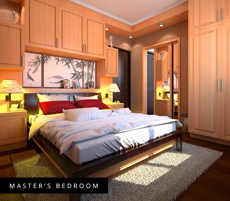 Milan Model House Master's Bedroom