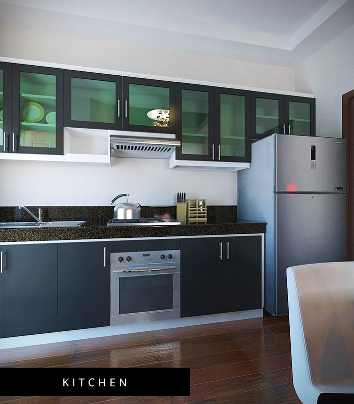 Milan Model House Kitchen
