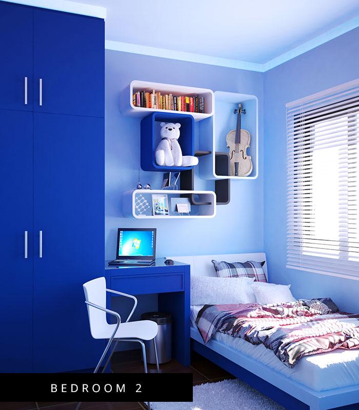 Milan Model House Bedroom