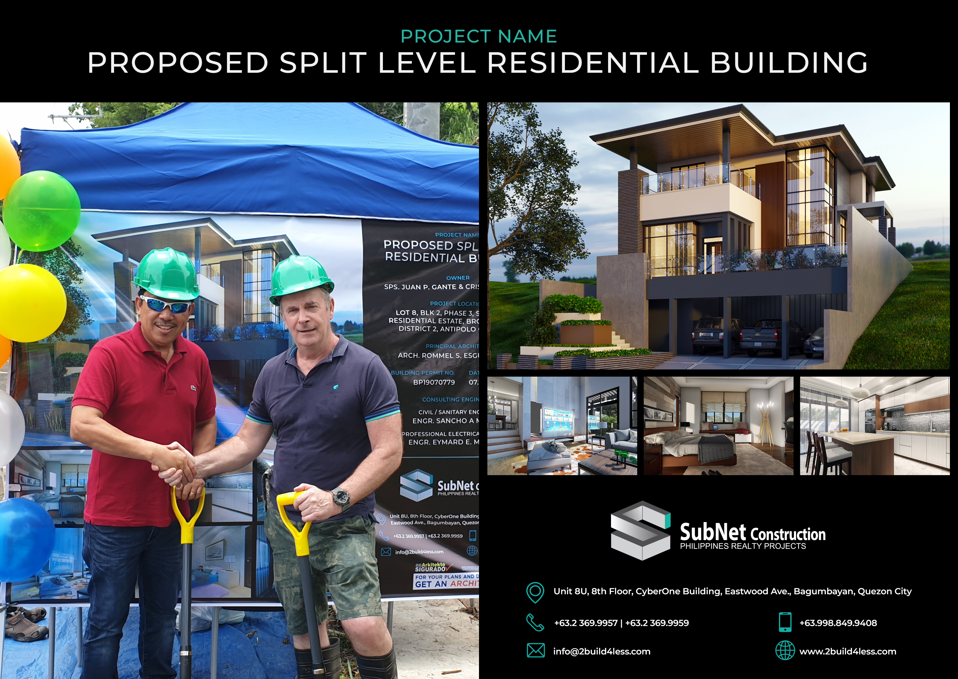 Subnet Hosts Groundbreaking for Latest Residential Project
